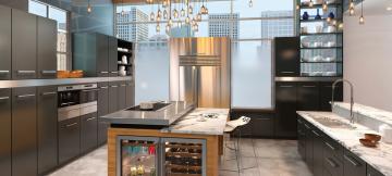 Встраиваемая техника на кухне: одни плюсы!