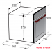 EOM 958 IVR: електрична духова шафа Gunter & Hauer